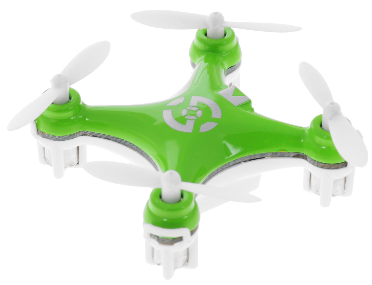 Bluesea Квадрокоптер на радиоуправлении CX-10 цвет зеленый радиоуправляемые игрушки