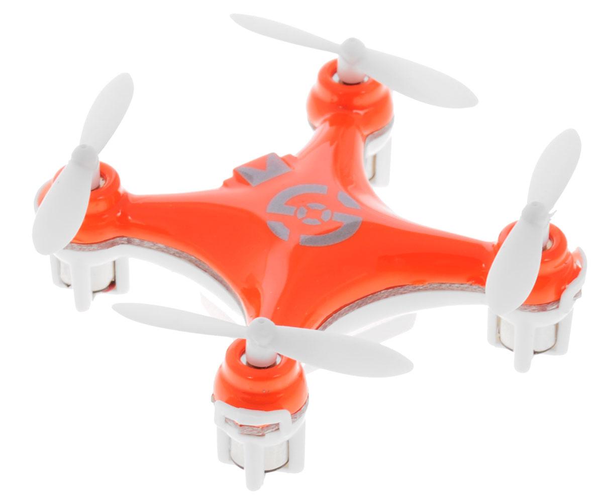 Bluesea Квадрокоптер на радиоуправлении CX-10 цвет оранжевый