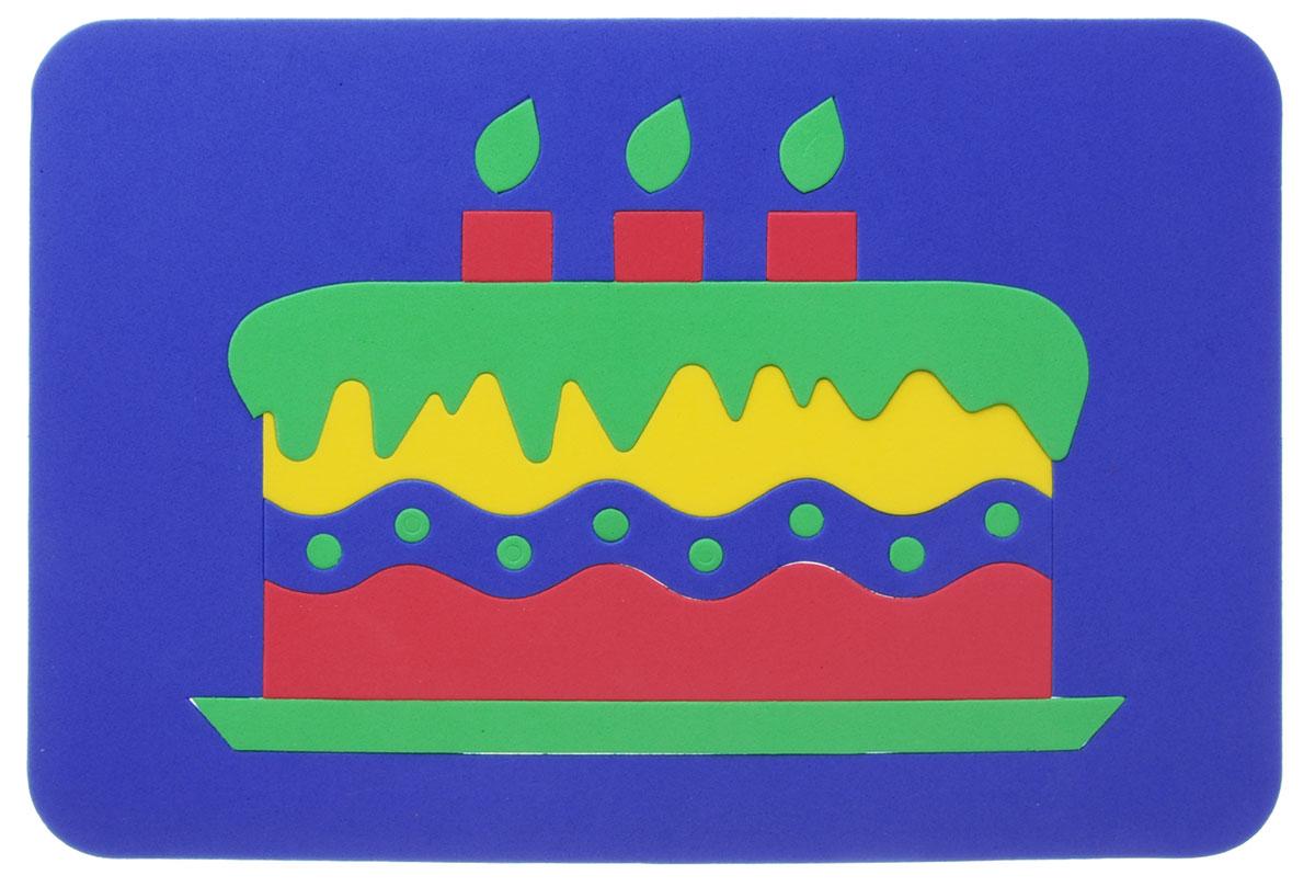 Август Пазл для малышей Торт цвет основы синий флексика пазл для малышей геометрия цвет основы красный