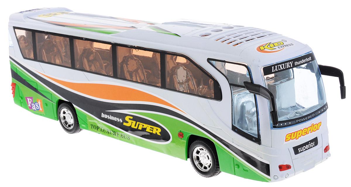 Junfa Toys Автобус инерционный спот ★ импортированные голубой автобус автобус автобус автомобиль тайо игрушка тянуть обратно автомобиль корея продукты