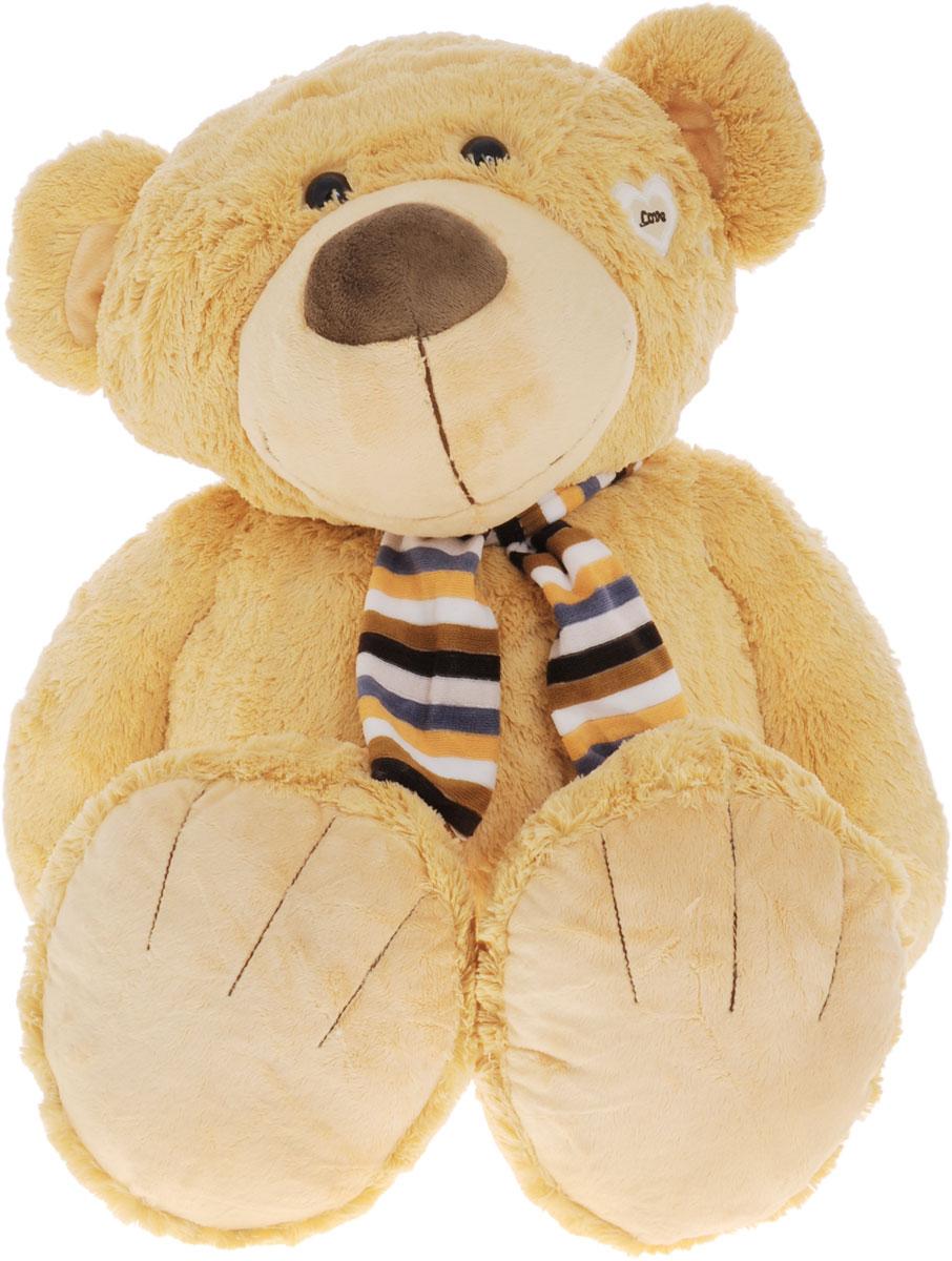 Magic Bear Toys Мягкая игрушка Медвежонок в шарфе 80 см