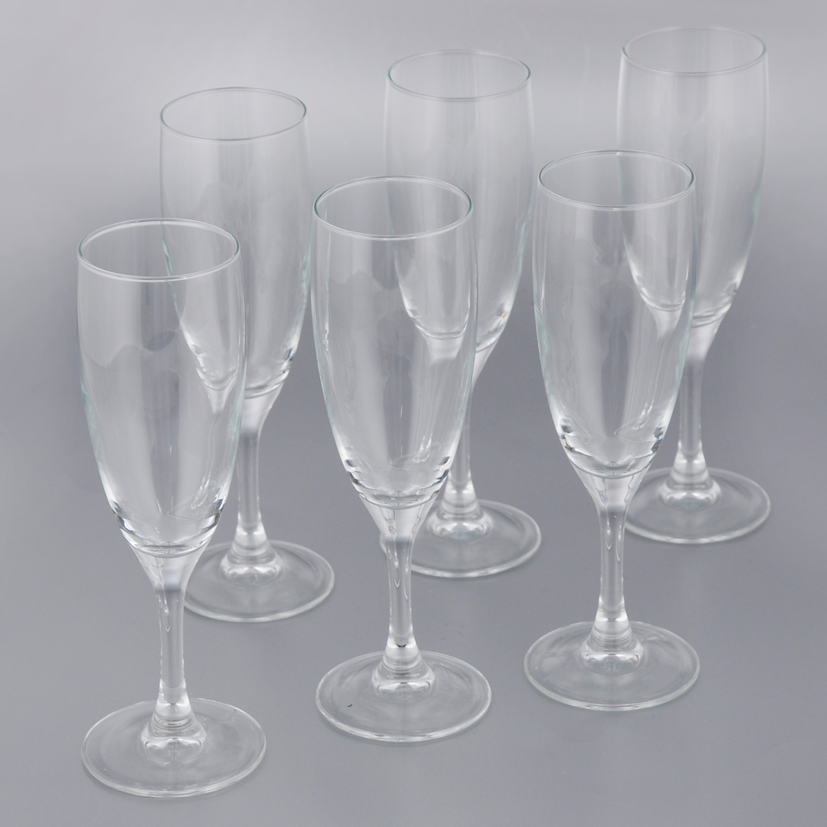 Набор фужеров для шампанского Luminarc Французский ресторанчик, 170 мл, 6 шт набор стаканов luminarc new america 270 мл 6 шт