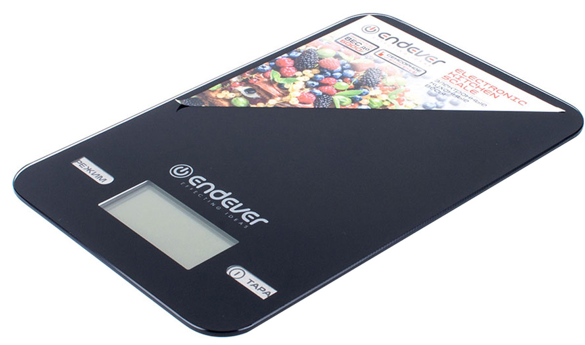 Endever 527-KS весы кухонныеKS-527Кухонные электронные весы Endever 527-KS – незаменимые помощники современной хозяйки. Они помогут точно взвесить любые продукты и ингредиенты. Кроме того, позволят людям, соблюдающим диету, контролировать количество съедаемой пищи и размеры порций. Предназначены для взвешивания продуктов с точностью измерения 1 г. Имеют сенсорное управление.Электронные кухонные весы Endever 527-KS – это высококачественный прибор, в котором применены новейшие технологии в области использования безопасных для здоровья материалов и компонентов.