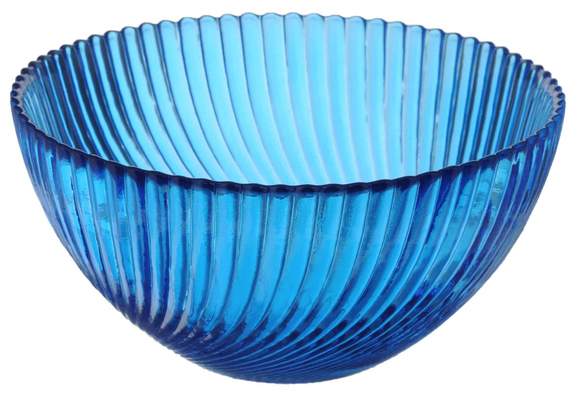 Салатник Ninaglass Альтера, цвет: синий, диаметр 16 смNG83-037BСалатник Ninaglass Альтера выполнен извысококачественного стекла и декорированрельефным узором. Он подойдет для сервировкистола как для повседневных, так и дляторжественных случаев.Такой салатник прекрасно впишется в интерьервашей кухни и станет достойным дополнением ккухонному инвентарю. Подчеркнет прекрасныйвкус хозяйки и станет отличным подарком.Не рекомендуется использовать вмикроволновой печи и мыть в посудомоечноймашине.Диаметр салатника (по верхнему краю): 16 см.Высота стенки: 8 см.