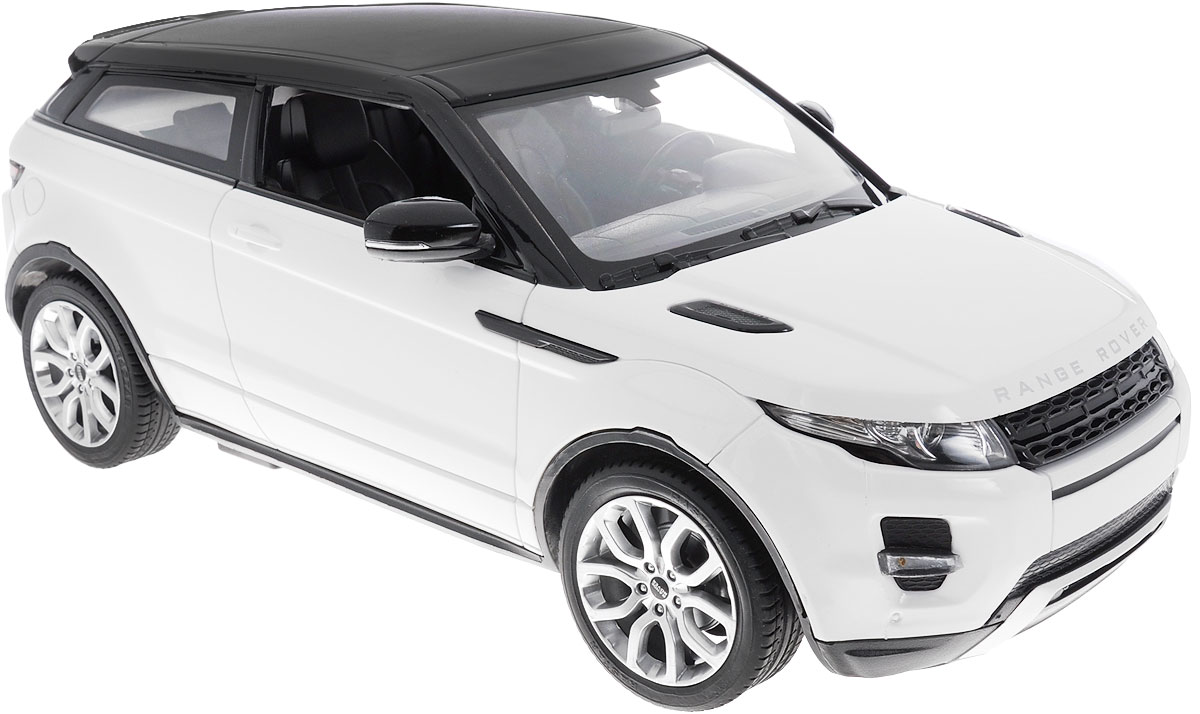 Rastar Радиоуправляемая модель с рулем Range Rover Evoque цвет белый rastar радиоуправляемая модель range rover evoque цвет красный масштаб 1 24