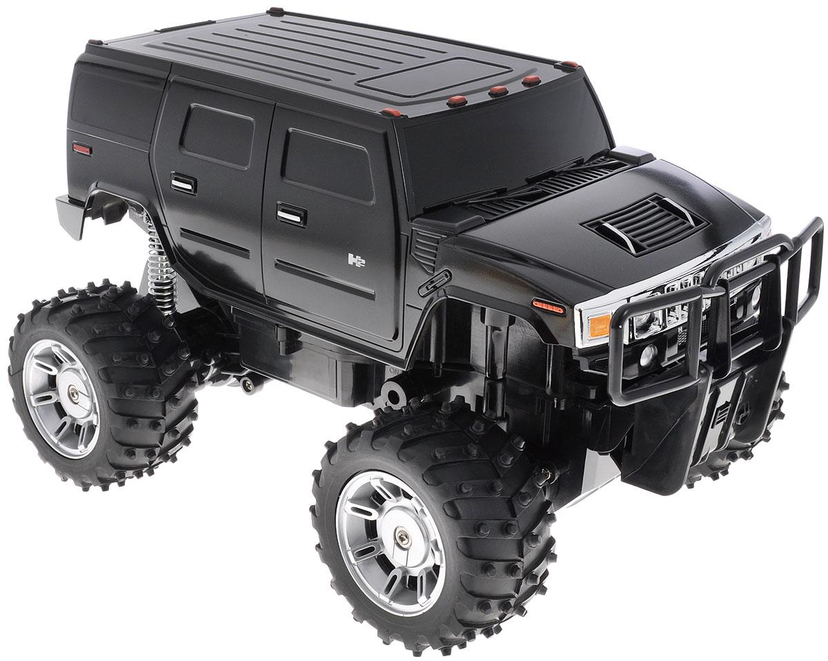 Rastar Радиоуправляемая модель Hummer H2 цвет черный масштаб 1:14 автомобиль радиоуправляемый rastar hummer h2 sut желтый