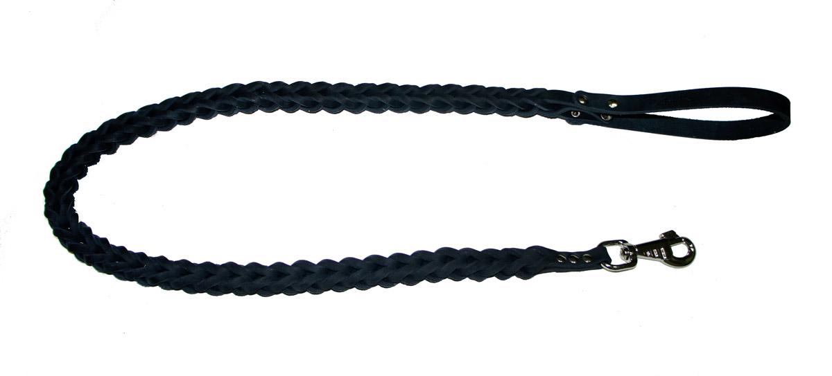 Поводок для собак Аркон Плетенка квадратная, цвет: черный, ширина 2,3 см, длина 120 смпл12квчПоводок для собак Аркон Плетенка квадратная изготовлен из высококачественной натуральной кожи в виде объемного плетения. Карабин выполнен из легкого сверхпрочного сплава. Изделие отличается не только исключительной надежностью и удобством, но и привлекательным современным дизайном.Поводок - необходимый аксессуар для собаки. Ведь в опасных ситуациях именно он способен спасти жизнь вашему любимому питомцу. Иногда нужно ограничивать свободу своего четвероногого друга, чтобы защитить его или себя от неприятностей на прогулке. Длина поводка: 120 см.Ширина поводка: 2,3 см.