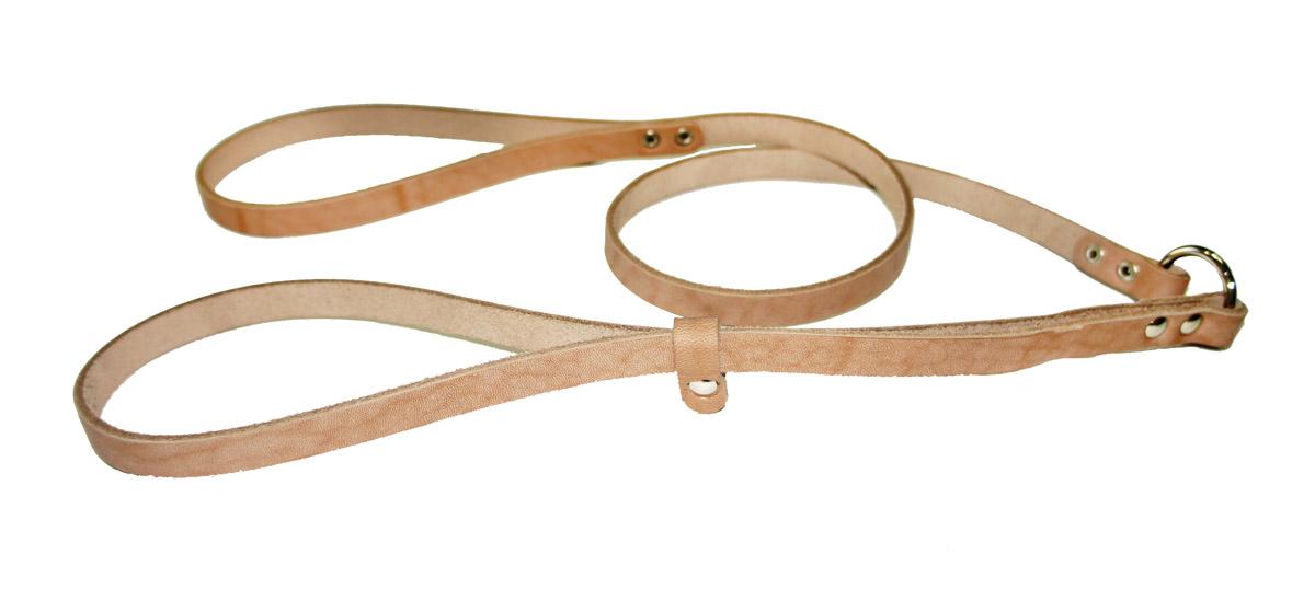 Ринговка для собак Аркон Стандарт, цвет: бежевый, ширина 1,2 см, длина 110 смр12Ринговка Аркон Стандарт - это специальный поводок, состоящий из петли с фиксатором и, собственно, поводка. Выполнена из натуральной кожи, фурнитура - из высококачественного металла. Ринговка является самым распространенным видом амуниции для показа собаки на выставке или занятий рингдрессурой. Ринговку подбирают в тон окраса собаки, если собака пятнистая - то в тон преобладающего окраса или, наоборот, контрастную.Ширина: 1,2 см.Длина: 110 см.