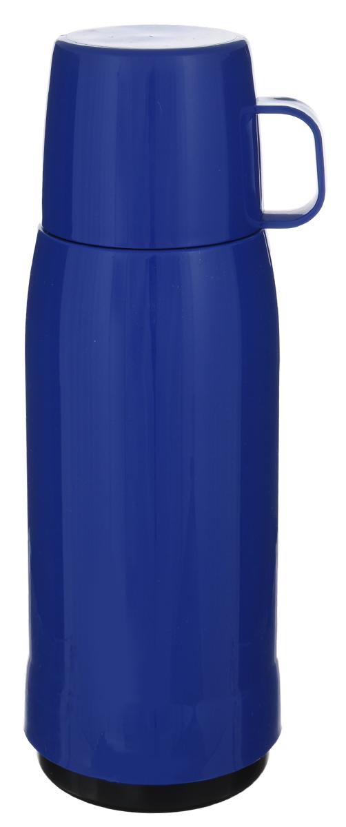 Термос Emsa Rocket, цвет: синий, 1 л502448Термос Emsa Rocket выполнен из прочного цветного пластика со стеклянной колбой. Термос прост в использовании и очень функционален. Оснащен герметичным клапаном и крышкой, которую можно использовать в качестве стакана. Легкий и прочный термос Emsa Rocket сохранит ваши напитки горячими или холодными надолго.Высота (с учетом крышки): 32 см.Диаметр горлышка: 6,3 см.Диаметр дна: 9,5 см.Размер крышки (без учета ручки): 8 х 8 х 6,7 см.Сохранение холода: 24 ч.Сохранение тепла: 12 ч.