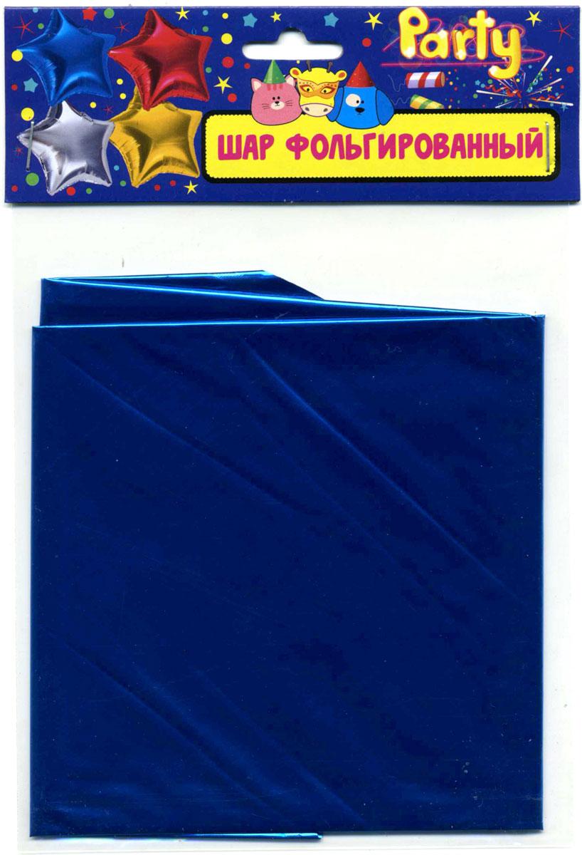 Action! Шар фольгированный Звезда цвет синий -  Воздушные шарики