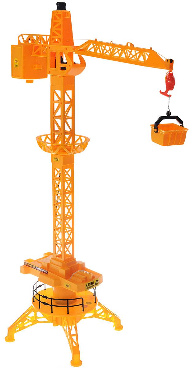 ABtoys Подъемный кран на радиоуправлении - Радиоуправляемые игрушки