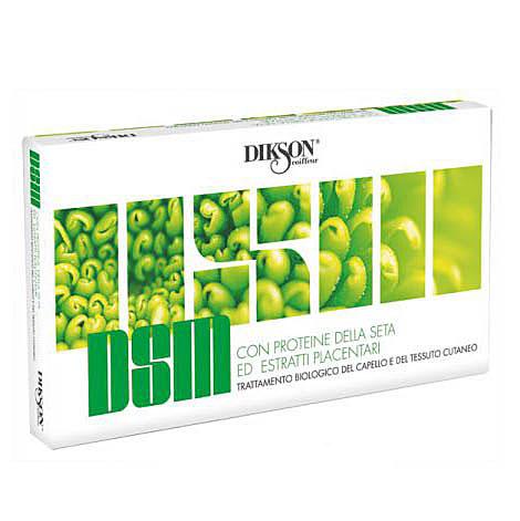 Dikson DSM - Ухаживающая и увлажняющая сыворотка с протеинами шелка для чувствительной кожи головы 10*10 млdikson1115Увлажняющая сыворотка с протеинами шелка для чувствительной кожи от Dikson (Диксон) устраняет воспаление на кожном покрове головы, восстанавливает гидролипидный обмен чувствительной, стрессовой и пересушенной кожи и укрепляет корни истощенных, «уставших» и ослабленных волос. Прекрасное средство для профилактики гиперкератоза (сухой перхоти), а также восстановления сухой кожи головы после солнечных ожогов и стресса. Оптимально разрешает проблему авитаминоза кожи головы и шелушения. Содержание активных веществ и компонентов: Протеины шелка – натуральный биостимулятор, оказывает противовоспалительное, иммуномодулирующее и регенерирующее действие, устраняет воспалительные процессы на коже головы, осуществляет нормализацию системы гидролипидного обмена и укрепляет волосы. Салициловая кислота обладает кератолитическим (размягчение и удаление чешуек перхоти с поверхности кожи) и антимикробным действием. Минерализованные соединения меди и железа - благотворно воздействуют на восстановительные процессы в коже головы, нормализуют секреторную деятельность сальных желез. Дрожжевой экстракт - содержит протеиновый и витаминные комплексы, а также микроэлементы и аминокислоты, необходимые для роста красивых и здоровых волос, нормализует обменные реакции и кровообращение. Рекомендации к применению: Нанести на чистые волосы, массируя втереть в корни волос. Не смывать! Что делать при выпадении волос – статья на OZON Гид.