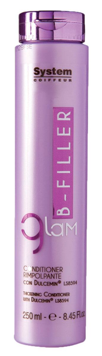 Dikson Шампунь интенсивное ухаживание с комплексом Dulcemin LS8594 Glam B-Filler Thickening Shampoo 250 млdiks2635Мягкий очищающий шампунь с кремовой консистенцией идеален для сухих, ломких и поврежденных волос. Bfiller Shampoo обогащен Dulcemin LS8594, гликопротеином, полученным из сладкого миндаля и обладающим увлажняющими, смягчающими и питательными свойствами. Glam Bfiller Shampoo является первой фазой интенсивного уплотняющего ухода, благодаря которому даже сильно поврежденные волосы будут легко расчесываться, приобретут плотность и объем. Для оптимальных результатов продолжите уход с другими продуктами линии Glam Bfiller. Активные компоненты: Dulcemin LS8594 (гликопротеин), миндаль. Результат: Волосы становятся послушными, плотными и приобретают объем.