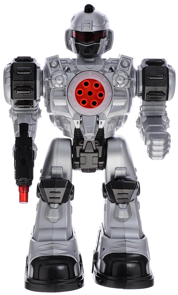 ABtoys Робот на инфракрасном управлении Снайпер цвет серебристый
