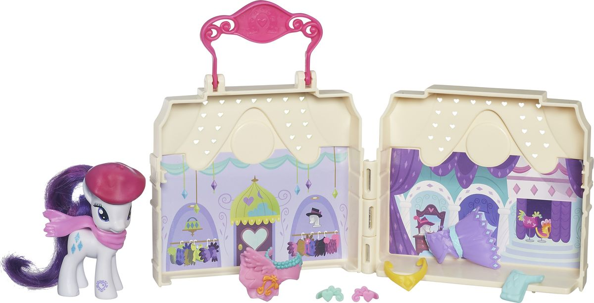 My Little Pony Игровой набор Dress Shop Rarity 87w usb c power adapter