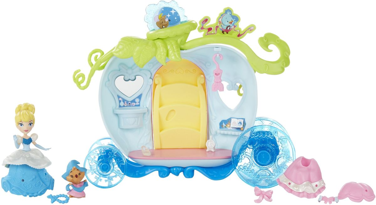 Disney Princess Игровой набор с куклой Золушка и волшебная карета игровые наборы disney princess игровой набор моана в ассортименте