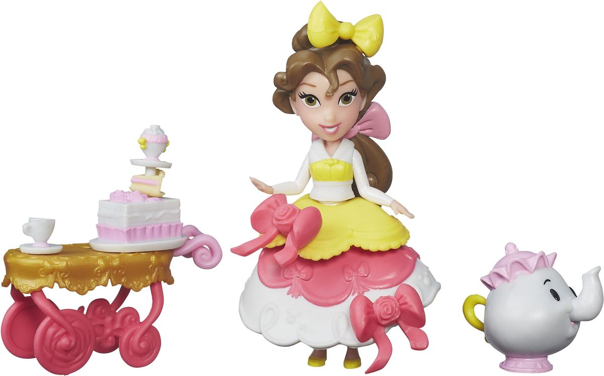 Disney Princess Игровой набор Чаепитие у Белль посуда для детей disney hm1602