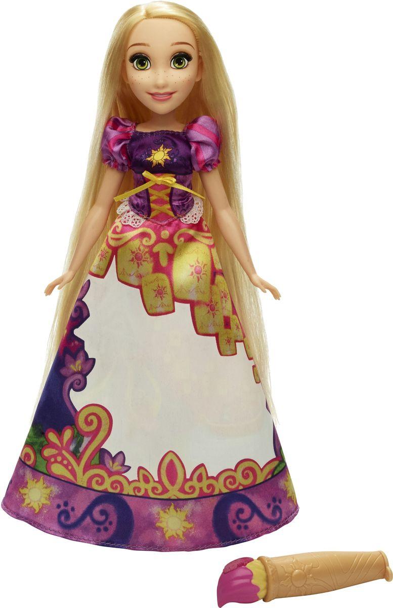 Disney Princess Кукла Рапунцель в юбке с проявляющимся принтом мини кукла тиана в платье с волшебной юбкой disney princess b8962 page 5