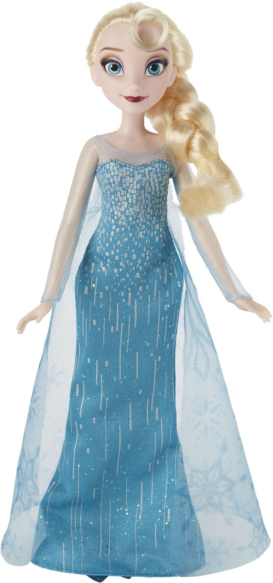 Zakazat.ru: Disney Frozen Кукла Эльза цвет платья изумрудный