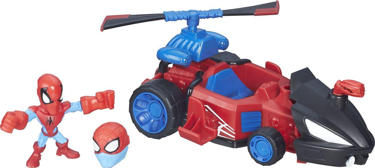 HeroMashers Набор фигурок Машина Человека-паука картинки человека паука лего