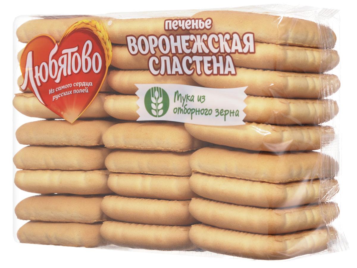 Любятово Печенье Воронежская сластена, 500 г любятово сладость курабье 400 г