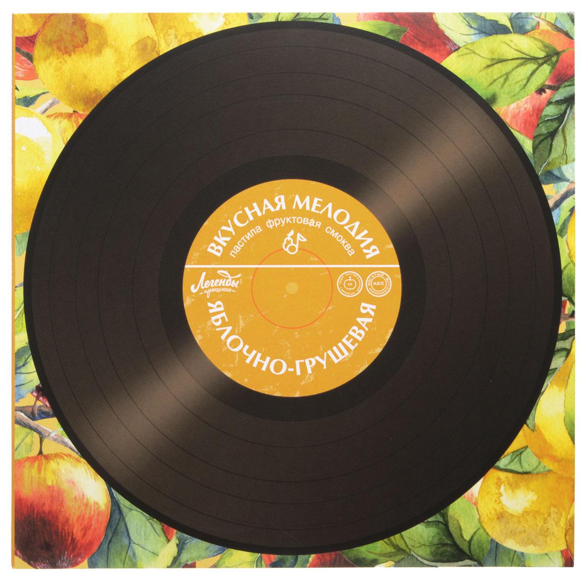 Вкусная помощь Пастила Вкусная мелодия яблочно-грушевая, 100 г вкусная помощь конфеты моей маме 178 г