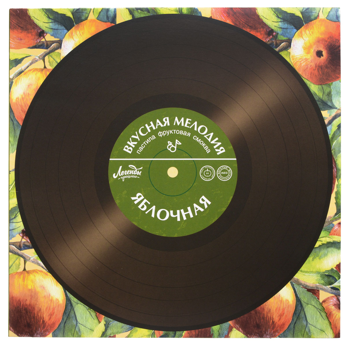 Вкусная помощь Пастила Вкусная мелодия яблочная, 100 г вкусная помощь конфеты моей маме 178 г
