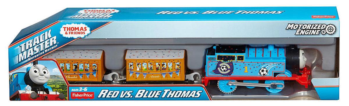 Thomas & Friends Паровозик Красный и синий Томас - Железные дороги
