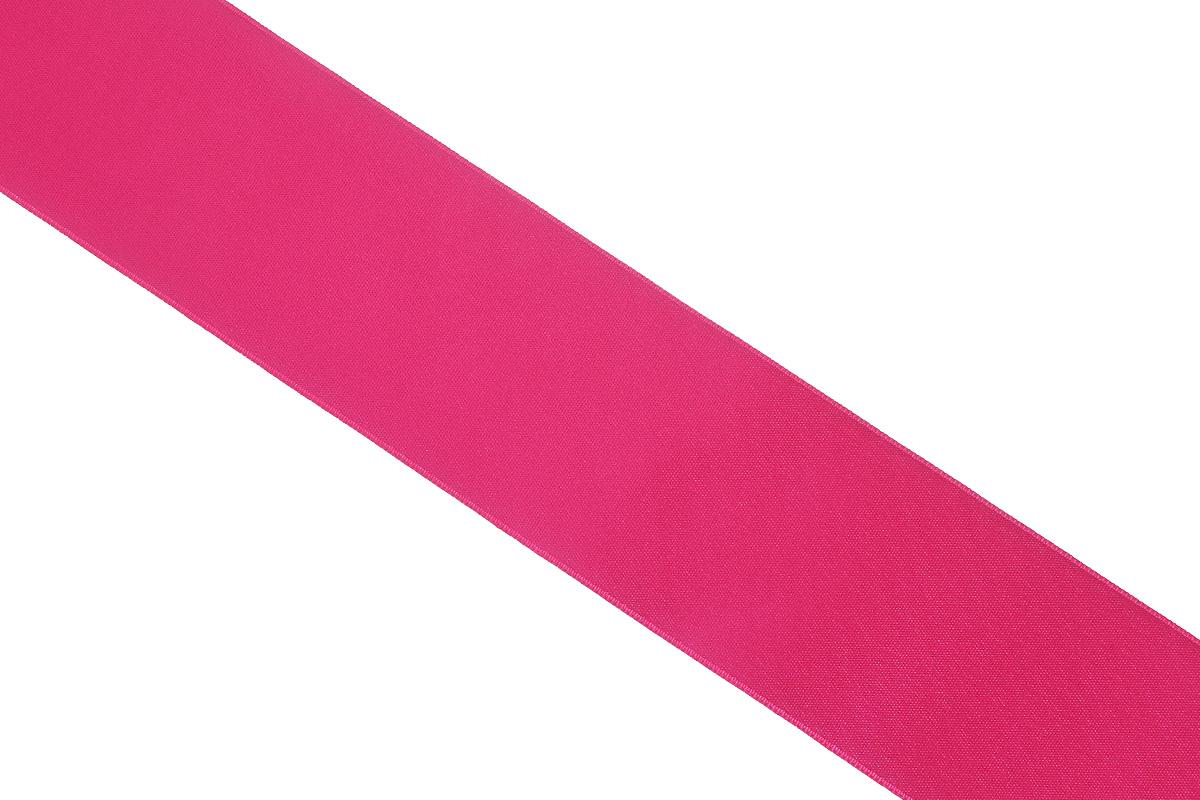Лента атласная Prym, цвет: малиновый, ширина 50 мм, длина 25 м695807_63Атласная лента Prym изготовлена из 100% полиэстера. Область применения атласной ленты весьма широка. Изделие предназначено для оформления цветочных букетов, подарочных коробок, пакетов. Кроме того, она с успехом применяется для художественного оформления витрин, праздничного оформления помещений, изготовления искусственных цветов. Ее также можно использовать для творчества в различных техниках, таких как скрапбукинг, оформление аппликаций, для украшения фотоальбомов, подарков, конвертов, фоторамок, открыток и многого другого.Ширина ленты: 50 мм.Длина ленты: 25 м.