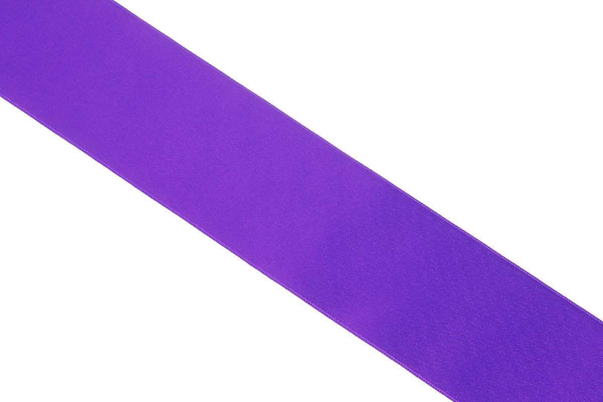 Лента атласная Prym, цвет: фиолетовый, ширина 38 мм, длина 25 м695806_60Атласная лента Prym изготовлена из 100% полиэстера. Область применения атласной ленты весьма широка. Изделие предназначено для оформления цветочных букетов, подарочных коробок, пакетов. Кроме того, она с успехом применяется для художественного оформления витрин, праздничного оформления помещений, изготовления искусственных цветов. Ее также можно использовать для творчества в различных техниках, таких как скрапбукинг, оформление аппликаций, для украшения фотоальбомов, подарков, конвертов, фоторамок, открыток и многого другого.Ширина ленты: 38 мм.Длина ленты: 25 м.