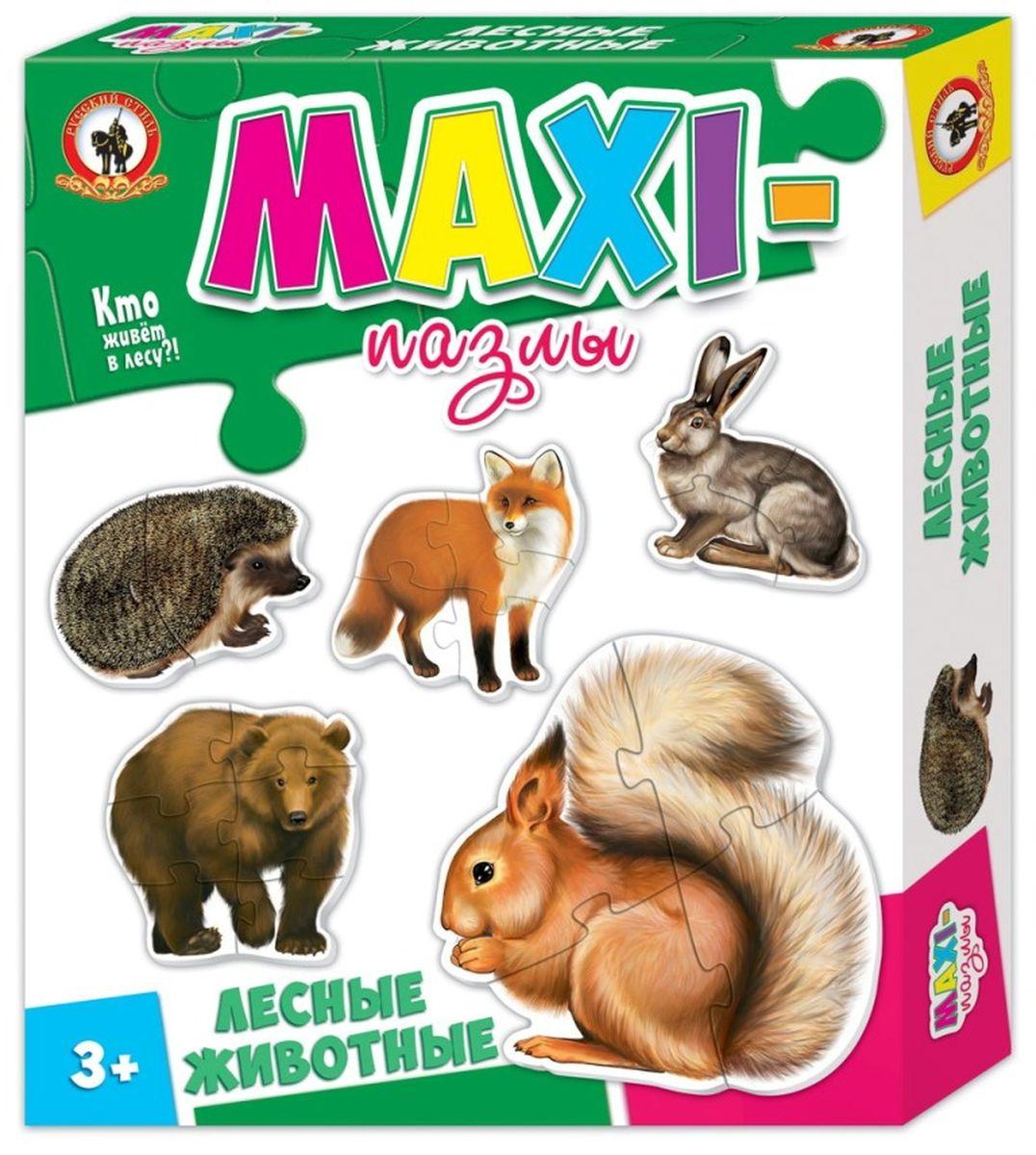 Русский стиль Макси пазлы Лесные животные valco baby snap spice