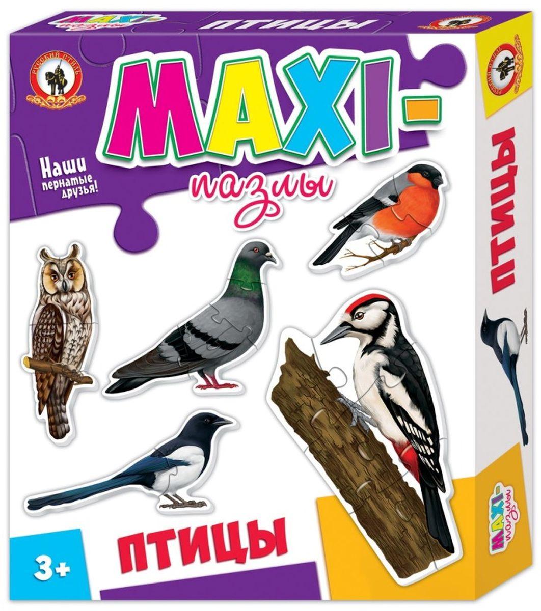 Русский стиль Пазл для малышей Птицы 5 в 1
