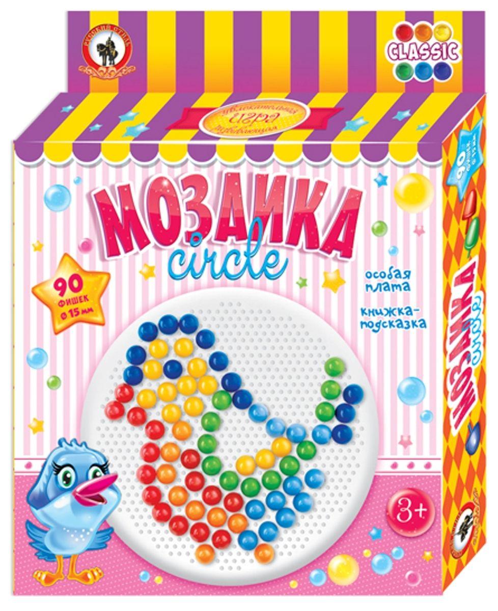 Русский стиль Мозаика Classic Птичка Круглая плата мозаика русский стиль мозаика classic гриб 40 элементов d 20 мм малая плата
