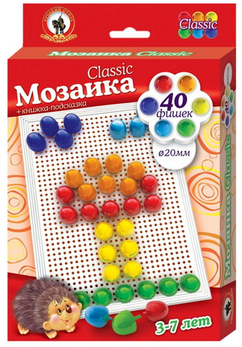 Русский стиль Мозаика Classic Гриб Малая плата мозаика русский стиль мозаика classic тюльпан 160 элементов d 10 15 мм большая плата