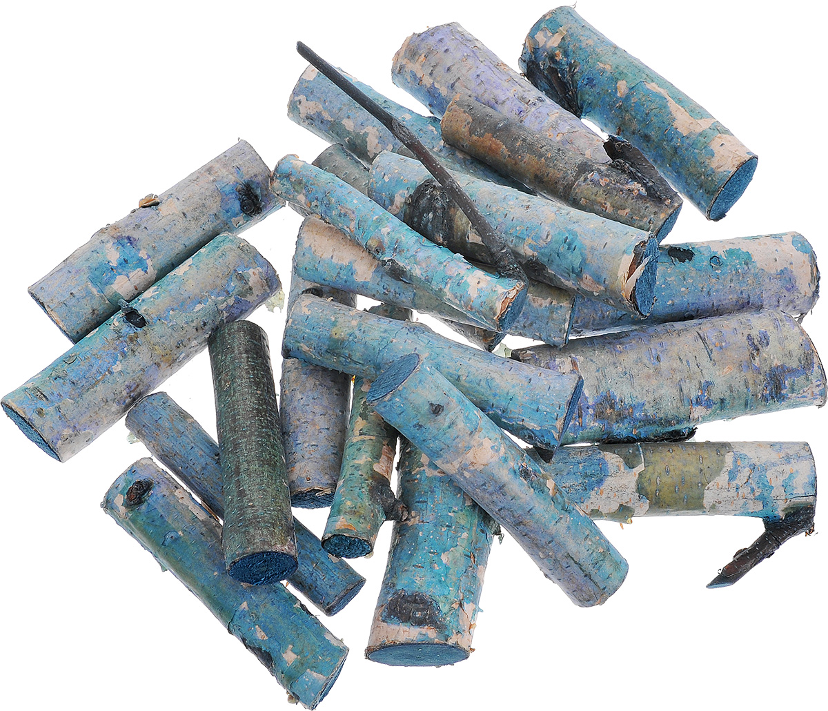Декоративный элемент Dongjiang Art Ветка, цвет: синий, длина 7 см, 250 г7708996_синийДекоративный элемент Dongjiang Art Ветка изготовлен из дерева и предназначен для декорирования. Изделие может пригодиться во флористике и многом другом.Декоративный элемент представляет собой кусочек ветки. Флористика - вид декоративно-прикладного искусства, который использует живые, засушенные или консервированные природные материалы для создания флористических работ. Это целый мир, в котором есть место и строгому математическому расчету, и вдохновению, полету фантазии. Длина ветки: 7 см. Диаметр веток: 1,3 см; 2 см.