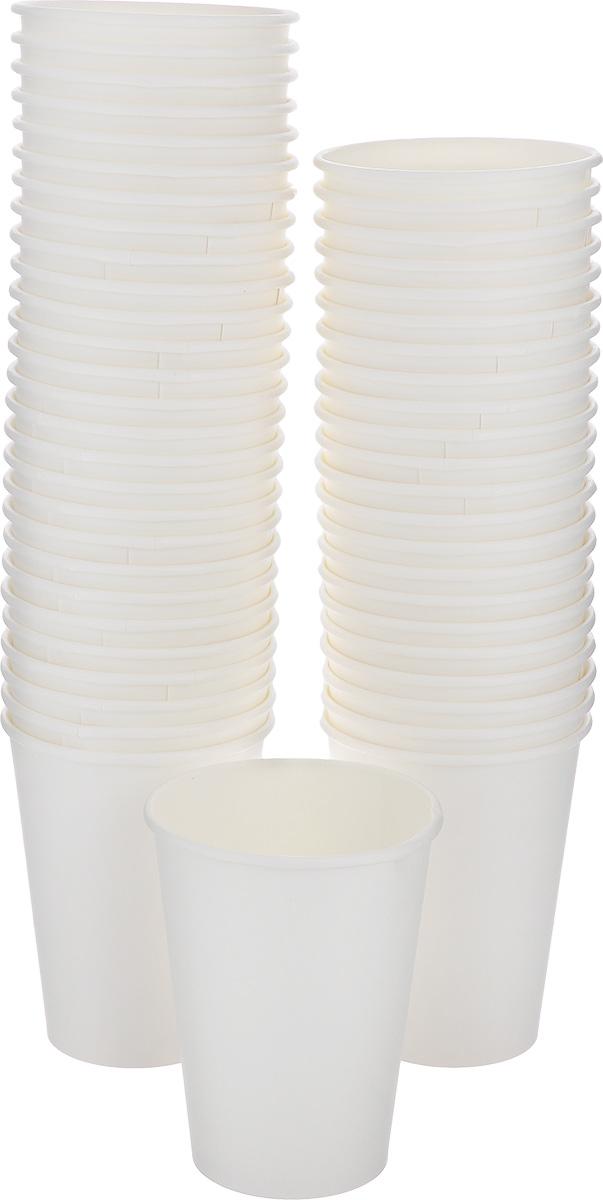 Набор одноразовых стаканов Huhtamaki, цвет: белый, 300 мл, 50 шт набор одноразовых стаканов huhtamaki craft 200 мл 35 шт
