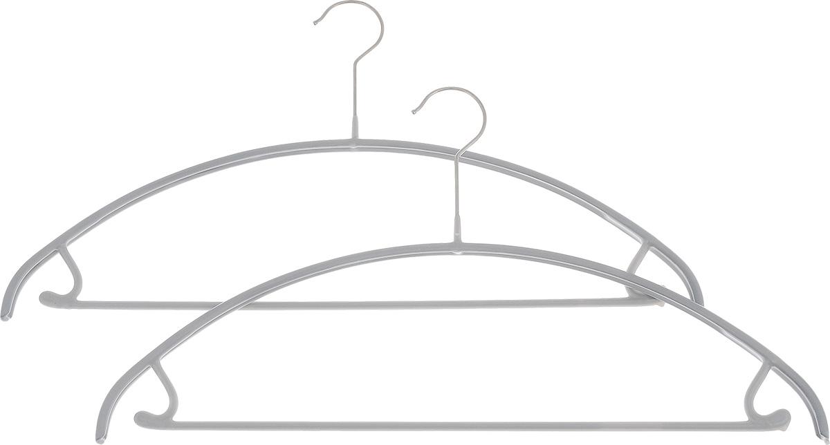 Вешалка для одежды Cosatto, с перекладиной и крючками, 2 штCOVLPA3612Набор Cosatto состоит из 2 вешалок, изготовленных из металла с антискользящим полипропиленовым покрытием. Изделия оснащены перекладиной и боковыми крючками.Вешалка - это незаменимая вещь для того, чтобы ваша одежда всегда оставалась в хорошем состоянии.Комплектация: 2 шт.