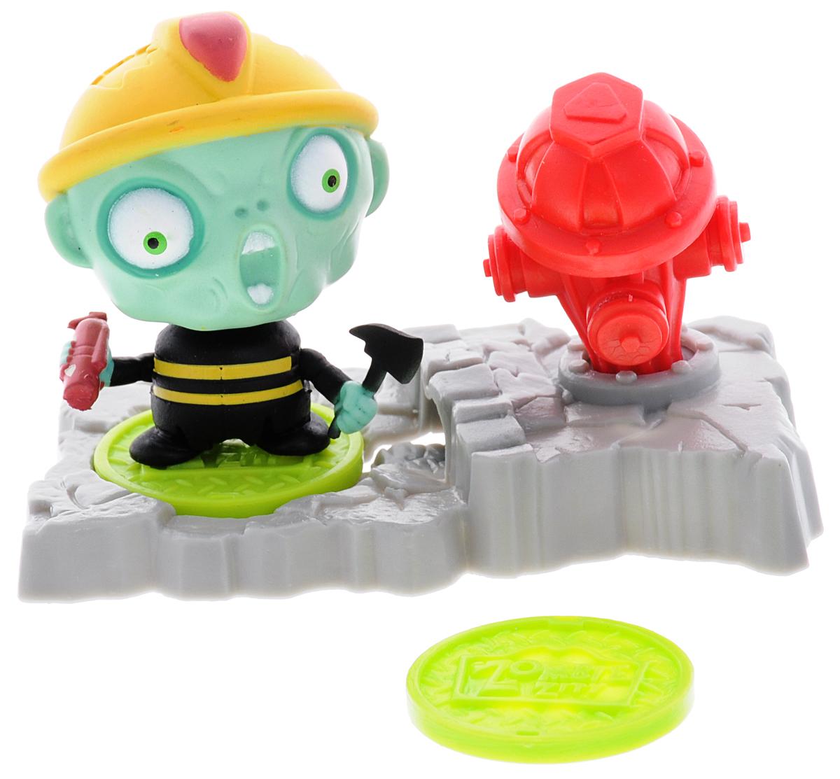 Zombie Zity Игровой набор Ловушка для зомби Пожарный гидрант
