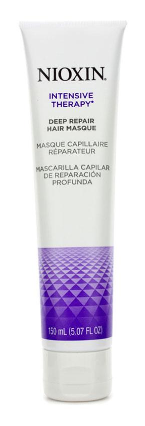 Nioxin Intensive Маска для глубокого восстановления волос Therapy Deep Repair Hair Masque 150 мл81274096Маска разработана для волос любого типа, которые стали сухими, были подвержены химическому воздействию или повреждены инструментами для укладки.Если у Вас очень сухие, поврежденные волосы, то Deep Repair Hair Masque (восстанавливающая маска) оказывает тройное укрепляющее действие, помогает восстановить поврежденные волосы, вернуть им эластичность и снизить химическое воздействие, оказываемое на волосы.