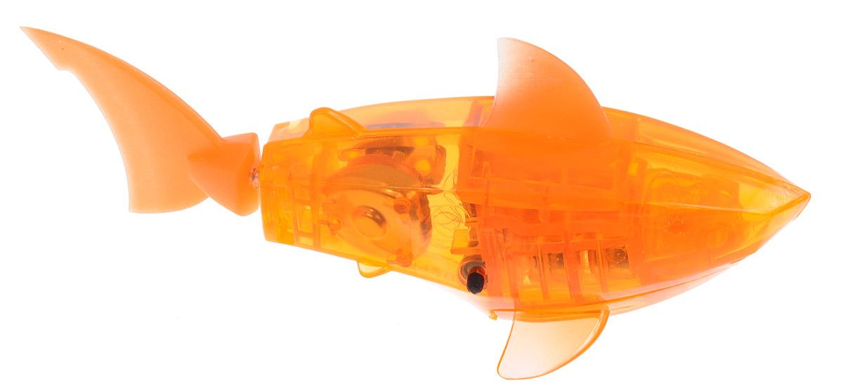 купить Hexbug Микро-робот Aquabot Shark с аквариумом цвет оранжевый недорого