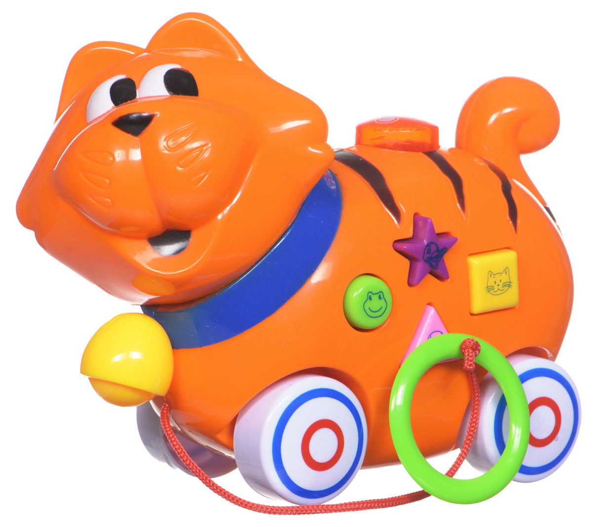 Mommy Love Игрушка-каталка Тигренок разноцветная мозаика тигренок на парашюте 2784