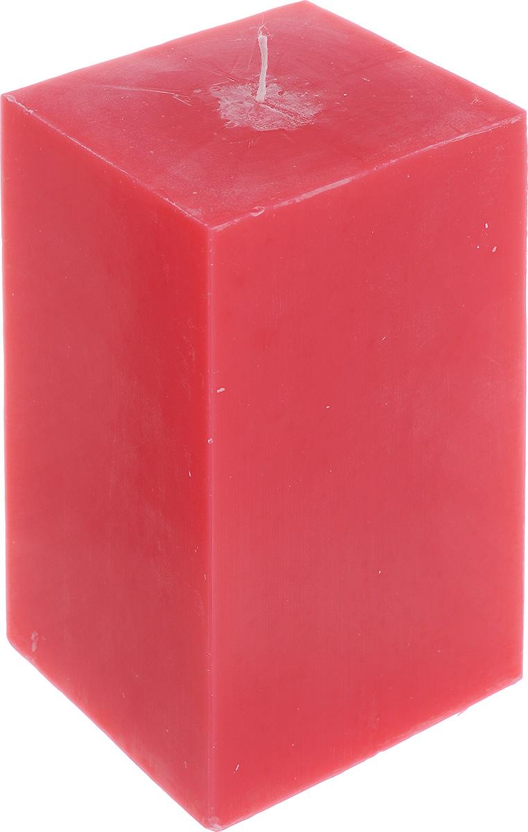 Свеча декоративная Proffi Home Квадрат, цвет: красный, 9,5 х 9,5 х 17,5 смPH3404Свеча Proffi Home Квадрат выполнена из парафина и стеарина в классическом стиле. Изделие порадует вас ярким дизайном. Такую свечу можно поставить в любое место, и она станет ярким украшением интерьера. Свеча Proffi Home Квадрат создаст незабываемую атмосферу, будь то торжество, романтический вечер или будничный день.