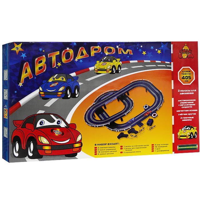 Тилибом Игрушечный трек Автодром