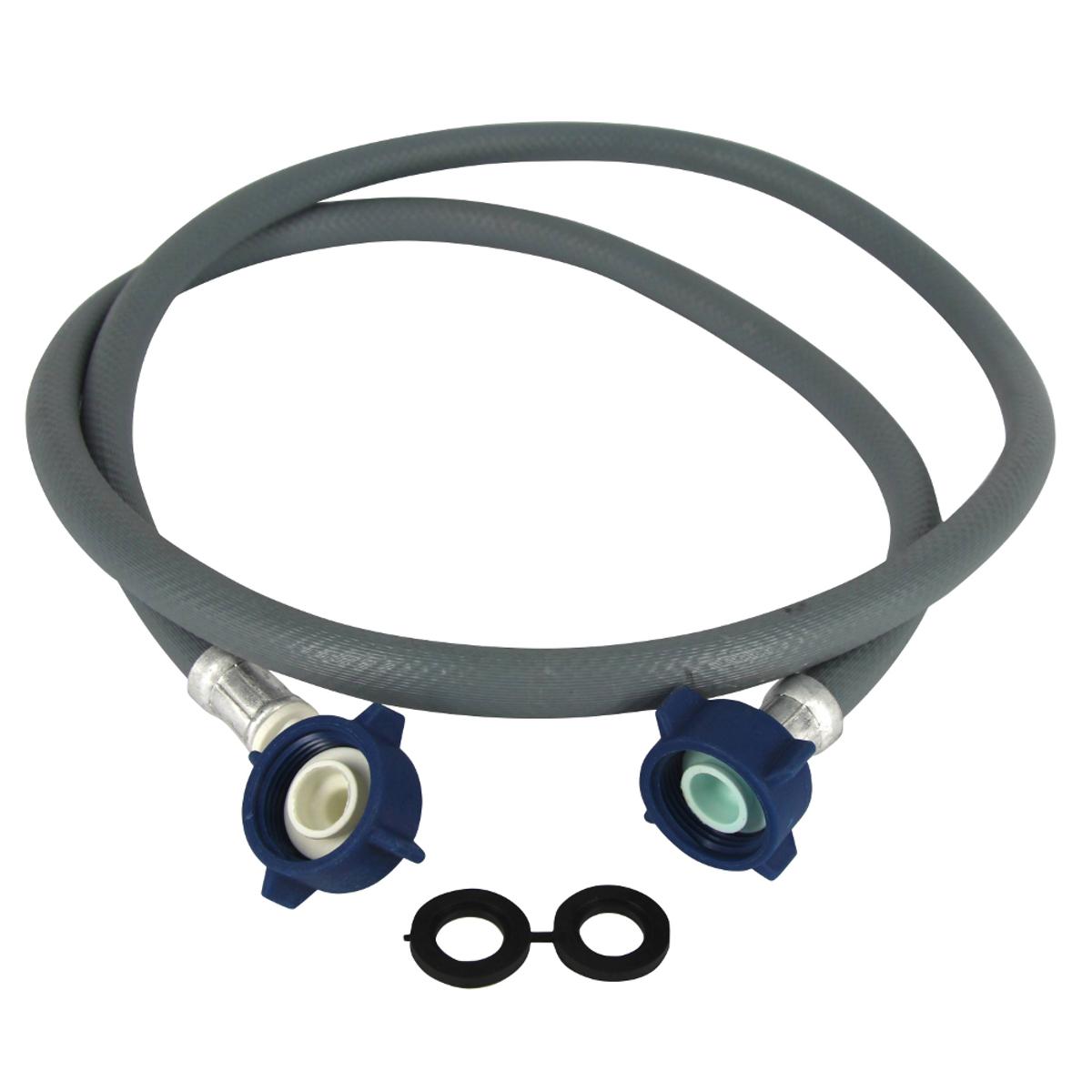 Шланг заливной для стиральной машины Зип-Флекс, длина 4 мИС.100331Шланг заливной Зип-Флекс предназначен для отвода воды. Используется для подключения стиральных и посудомоечных машин к системе водоснабжения.