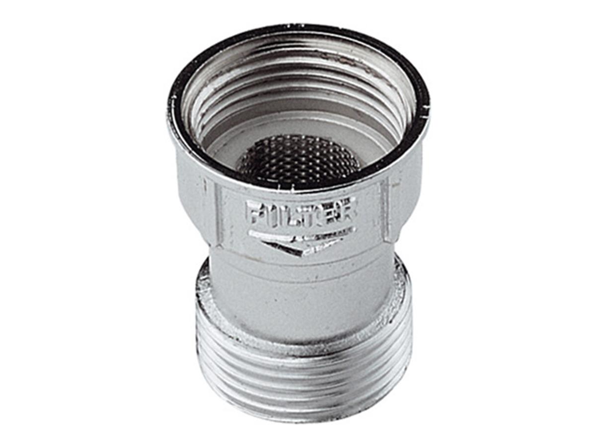 """Фильтр """"Remer"""" для заливного шланга стиральной машины предназначен для очистки потока от механических примесей в системах подачи горячей и холодной воды, нефтепродуктов, газов и сжатого воздуха в пределах допустимых значений по температуре и давлению, указанных в технических характеристиках."""