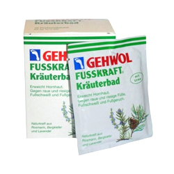 Gehwol Fusskraft Herbal Bath - Травяная ванна для ног 10*20 гр купить gehwol med nail softener