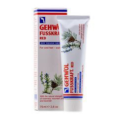 gehwol gerlachs fusskrem крем для уставших ног 75 мл Gehwol Fusskraft Red Dry Rough Skin - Красный бальзам для сухой кожи ног 125 мл