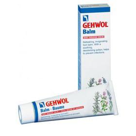 Gehwol Balm Dry Rough Skin - Тонизирующий бальзам Авокадо для сухой кожи ног 75 мл1*24705Тонизирующий бальзам Авокадо для сухой кожи Геволь (Gehwol Balm Dry Rough Skin) создан для оптимального ухода за сухой шелушащейся, потрескавшейся и особо чувствительной кожи. Оживляющий и восстанавливающий силы бальзам для сухой, грубой и растрескавшейся кожи ног. Охлаждающий ментол и натуральные эфирные масла, получаемые из розмарина и ромашки освежают и оживляют. Сразу же исчезают жжение в ногах и ощущение усталости. Натруженные, гудящие ноги сразу оживают. Защищающие противомикробные ингредиенты на длительное время предотвращают появление неприятных запахов, дают действенную защиту от грибковых поражений стоп и поддерживают ноги в гигиеничном и свежем состоянии. Тонизирующий бальзам Авокадо богат такими веществами, смягчающими кожу ног, как ланолин и масло авокадо. Пострадавшая и потрескавшаяся кожа снова станет гладкой, эластичной, упругой и устойчивой. Алоэ вера связывает излишнюю влагу в кожном покрове. Тонизирующий бальзам Авокадо Геволь для сухой, потрескавшейся кожи доставит Вам длительное ощущение хорошо ухоженной кожи. Проверено по дерматологическим показателям. Благоприятно применение при заболевании диабетом. Назначение: Успокаивает раздражения, смягчает сухую и шелушащуюся кожу, возвращает эластичность загрубевшим участкам. Обладает сильным освежающим и оживляющим действием. Обладает противогрибковым действием. Активные компоненты: ланолин, масло авокадо, гель алое-вера.Как ухаживать за ногтями: советы эксперта. Статья OZON Гид