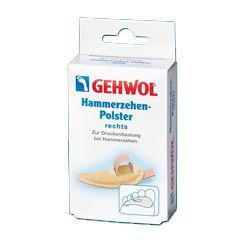 Gehwol Hammerzehen-Polster rechts - Подушечка под пальцы ног малая, правая №0 1 шт gehwol zehenschutz ring кольца для пальцев защитные малые 2 шт