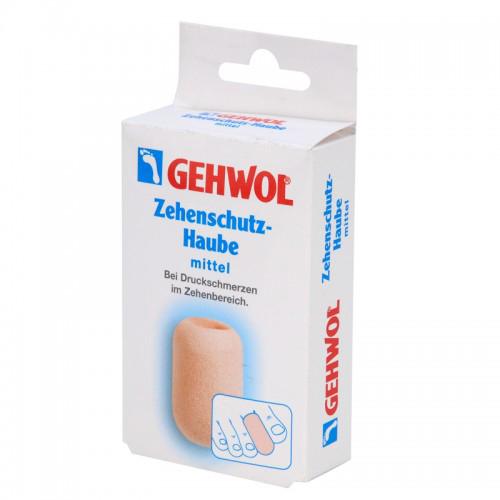 Gehwol Zehenschutz-Haube - Колпачок для пальцев защитный большой 2 шт1*27511Колпачок для пальцев защитный большой Геволь (Gehwol Zehenschutz-Haube) изготовлен из мягкого пенообразного материала, плотно прилегает к коже. Эффективно защищает от надавливания мозоли, натертостей и костных наростов. Рекомендуется использовать для защиты от давления на кончик пальца при вросшем ногте. Медицинский продукт. Назначение: защищает от воздействия мозолей, натертостей и костных наростов. Количество: 2 шт